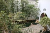 中式园林室内竹园