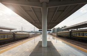 火车站站台