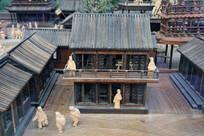 木雕清明上河图酒楼