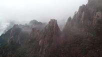 安徽黄山山峰风光