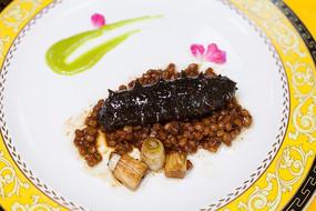 国宴葱烧海参