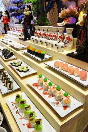 日本传统美食寿司