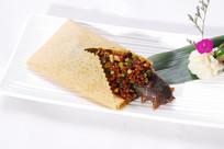 肉末煎饼烧海参