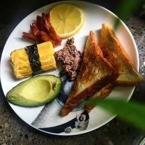 西式健康早餐