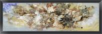 简约现代无框画抽象油画