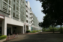 中山大学建筑一角