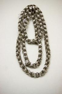 壮族花银项链