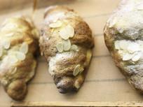 法式牛角面包细节