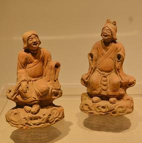 文物陶井神像