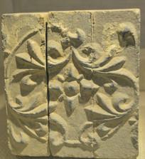 文物砖刻菱花纹