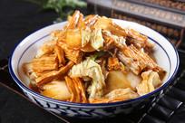 白菜烧腐竹