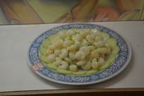 菜品水晶虾仁