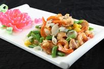 蜜豆百合炒凤尾虾