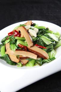 青菜炒豆腐干