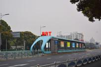 常州BRT快速公交站牌