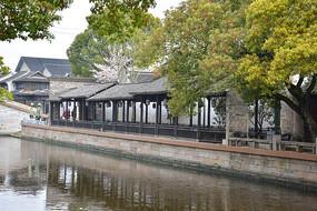 惠山古镇河边长廊