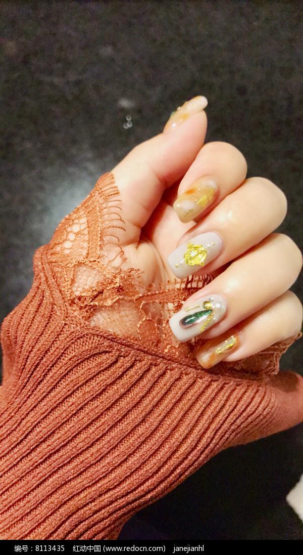 手指甲美容圖片