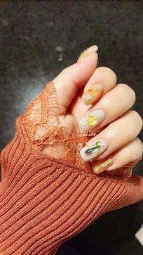 手指甲美容