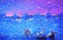 水墨创意风景画