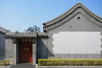 老北京灰砖民居