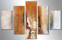 现代艺术背景墙壁画