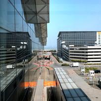 香港机场候机楼