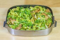 肉炒疙瘩白菜盒
