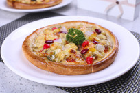 夏威夷水果披萨