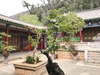 古典寺庙院子