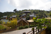 海南槟榔谷少数民族村寨