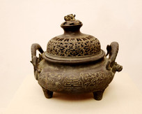 明代铜香炉