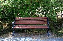 公园里的条椅