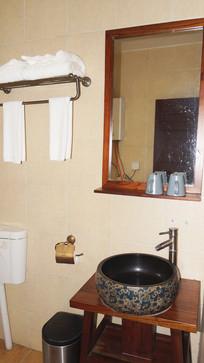 酒店特色洗手间装饰