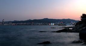 慢门大海景观图片