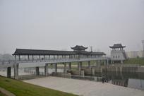 全椒县河上廊桥