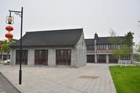 全椒县太平公园仿古房屋