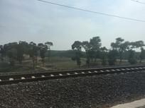 铁路沿线风景图片