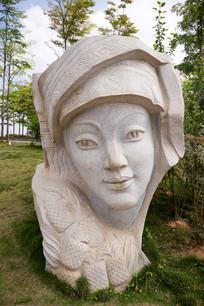 侗族金花石雕