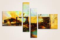 四联抽象油画