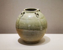 隋朝时期青釉四系罐