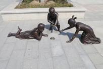 童趣雕塑像