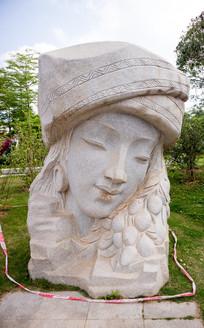 瑶乡金花石雕