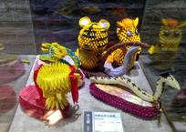 自梳女手工折纸饰物摆件