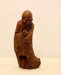 清代木雕寿星