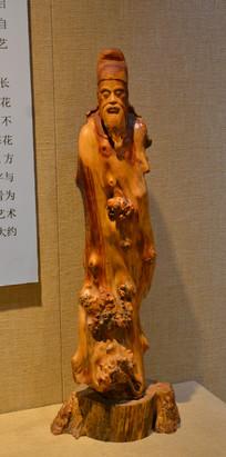 传统工艺根雕杜浦