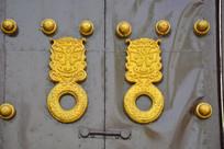 龙首圆形门环