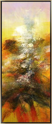 漂亮的抽象油画 无框画