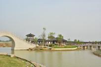 隋唐文化公园风景