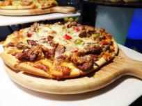 香辣牛肉披萨