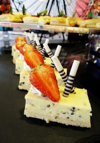 芝士鲜果蛋糕